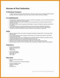 professional summary resume exles professional summary resume sle musiccityspiritsandcocktail