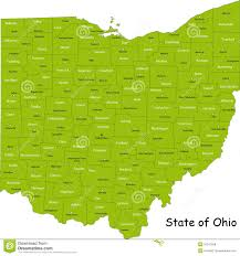 Lancaster Ohio Map by Ohio Map Royalty Free Stock Photos Image 10241508