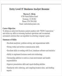 entry level it resume 21 it resume templates free premium templates