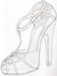 designer shoe sketches google search coloring pages