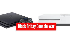 xbox one black friday sale one and sony ps4 console war coming to black friday 2016