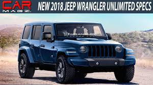 2018 jeep wrangler unlimited diesel review and release date youtube