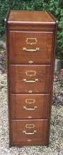 4 Drawer Filing Cabinet Wood by Outstanding Very Rare Arts U0026 Crafts 4 Drawer Filing Cabinet Mint