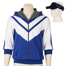 halloween hoodie amazon com men u0027s pokemon go trainer figure blue hoodie team