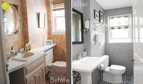 Easy Small Bathroom Interesting Small Bathroom Makeovers - Easy bathroom makeover ideas