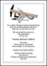 what to write on a graduation announcement culinary school graduation announcements invitations at