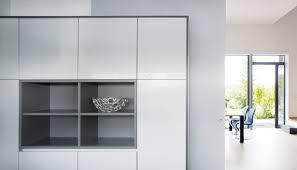küche und co bielefeld contemporary kitchen stainless steel lacquered high gloss
