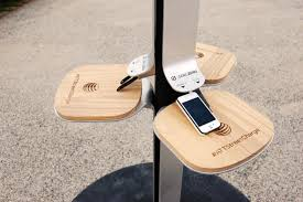 charging station phone nyc introduces solar powered phone charging stations digital trends