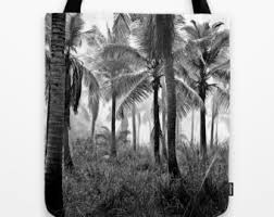 palm tree tote bag etsy
