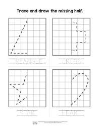worksheet shapes range shapes symmetry worksheets 3 versions symmetry activities