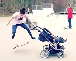 Funny Skateboard Memes - baby strollers skateboard luxury baby stroller folding baby