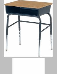 Open Front Desk 785 Series Laminate Top Student Desk With Open Front Plastic Book