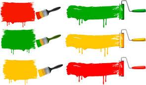rainbow paint brush vector free vector download 6 050 free vector