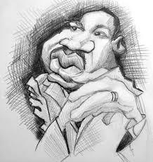 martin luther king jr sketch by doodleartstudios on deviantart