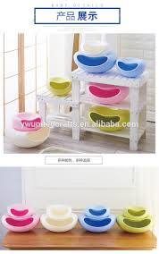 unique fruit bowl sell creative colorful pe plastic fruit plate unique shape