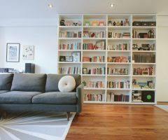 kansas city restoration hardware bookcases living room traditional