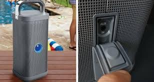 big blue party big blue party indoor outdoor wireless waterproof speaker