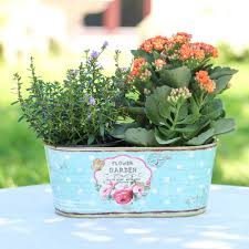 vintage windowsill planter