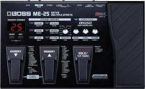 boss me 25 guitar multi effects pedal at best price stompbox in