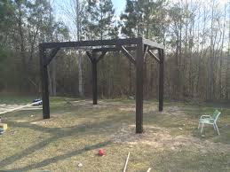 Gazebo Porch Swing by Simple Diy Porch Swing Fire Pit Gazebo With Plans Eclipse Graphite