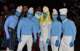 Smurf Halloween Costume Smurfs Group Bob Flickr