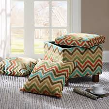 ottoman and matching pillows storage ottoman with matching pillows pillow cushion blanket