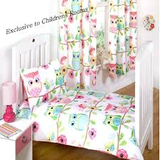Owl Nursery Curtains Pink Owl Nursery Curtains And Friends Toddler Bedding Baby