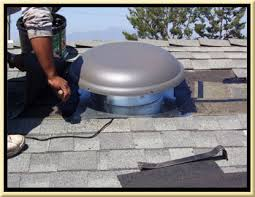 installing a gable vent fan orange county solar fan roof ventilation installation contractor