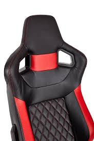 corsair t1 race gaming chair u2014 red