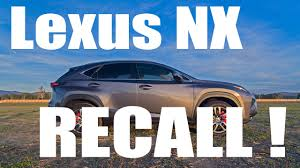 lexus recall for dashboard lexus nx recall brake hold feature youtube