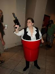 Red Solo Cup Meme - cosplay comedy han solo cup meme guy