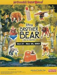 brother bear mcdonald u0027s 2003 kids meal wiki fandom powered