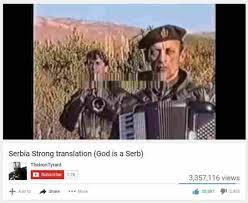 Meme Translation - dopl3r com memes serbia strong translation god is a serb