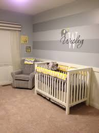 wesley u0027s yellow and gray elephant nursery grey stripes nursery
