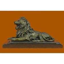 barye lion sculpture barye lion sculpture carvings ebay