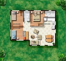 Floor Plan Database Amazing Floor Plan For Small House In The Philippines 12 2 Bedroom
