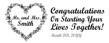 congratulations engagement banner cheap wedding banners personalized by you