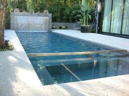 modern water features ultra modern pool water feature in hollywood hills california modern