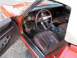 1968 corvette interior 1968 chevrolet corvette convertible 161390