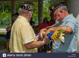 American Legion Flag Veterans With The American Legion Jacksonville N C Prepare To