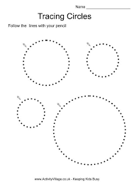 10 best images of tracing circle printable template circle