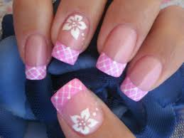 32 simple flower nail designs simple flower nail art designs