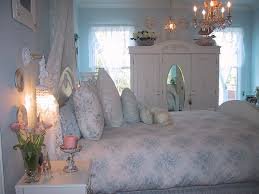 White Shabby Chic Bedroom by Blue And White Shabby Chic Bedrooms Video And Photos