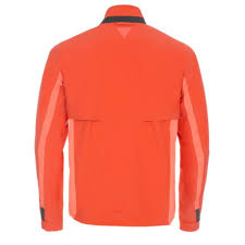 orange cycling jacket paul smith 531 orange weatherproof cycling jacket with temperature