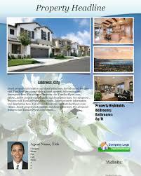 real estate flyer brochure templates pdf format no software