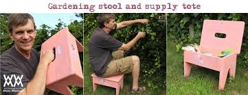 make a handy gardening stool carry all woodworking for mere