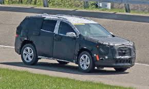 chevrolet traverse blue gm to debut redesigned chevy traverse gmc terrain at detroit show