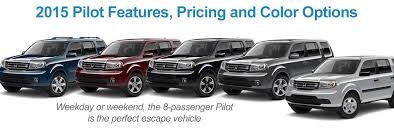 honda pilot 2015 4wd 2015 honda pilot features price and color options