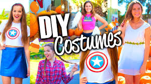 easy u0026 cute diy halloween costumes for teens youtube