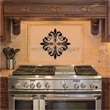 Kitchen Backsplash Decals Interior Easy Diy Kitchen Backsplash With Vinyl Tablecloth Ideas